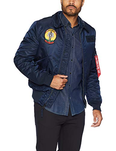 Alpha Industries Men's Storm Cruise MID Length Flight Jacket