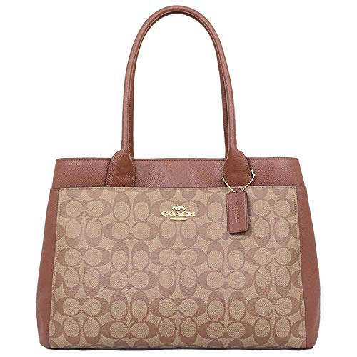 Coach Signature Canvas Casey Tote Handbag