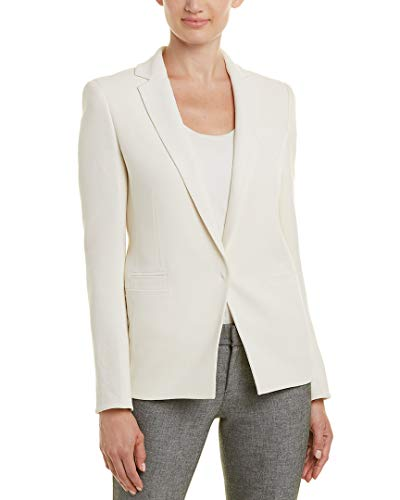 Akris Womens Wool Blazer, 12, White