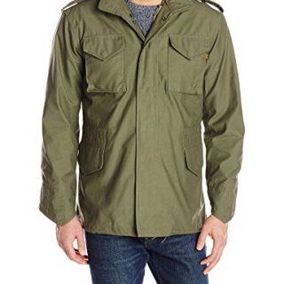 Alpha Industries Men's Slim Fit Field Coat, Olive, X-Large