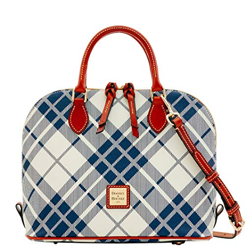 Dooney & Bourke Harding Zip Zip Satchel Navy
