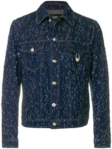 Versus Versace Men's Blue Cotton Jacket