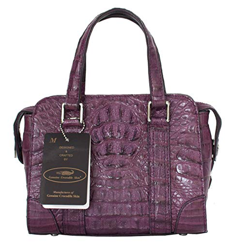 Authentic M Crocodile Skin Womens Hornback Bag