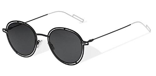 Dior Homme Palladium Black Round Sunglasses Lens Category 3 S