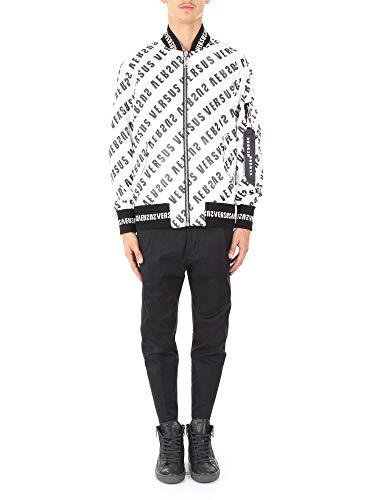 Versus Versace Men's White Polyamide Jacket