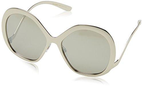 Dolce & Gabbana Women's Tropico Sunglasses, Silver/Silver, One Size