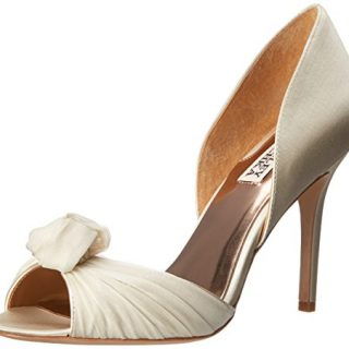 Badgley Mischka Women's Musica Dress Pump, Ivory
