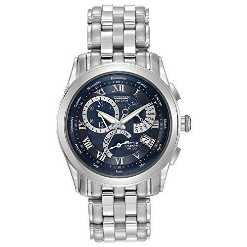 Citizen Men's Eco-Drive Calibre Stainless Steel Bracelet Watch