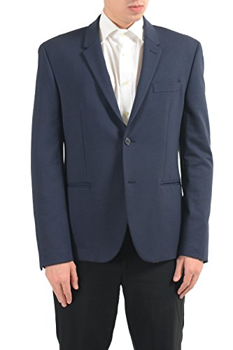 Versace Collection Men's Blue Two Button Blazer Sport Coat