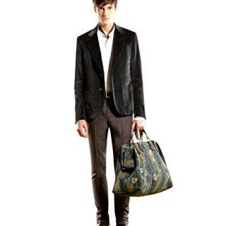 Gucci Men's Runway Green Velvet Jacket Blazer