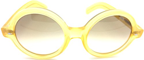Cutler and Gross honey Round Sunglasses