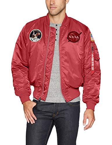 Alpha Industries Men's Apollo MA-1 MID Length Flight Jacket