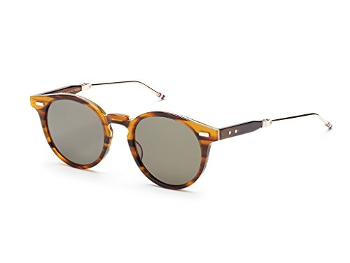 THOM BROWNE Walnut-12K Gold w/ G15-AR Sunglasses