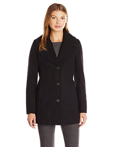 Marc New York by Andrew Marc Women's Penelope Wool Oversized Button Coat