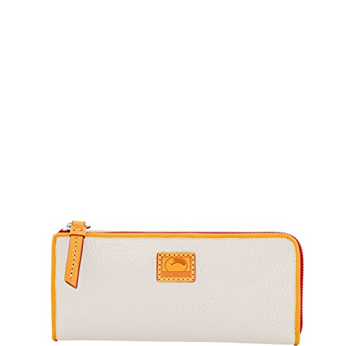 Dooney & Bourke Patterson Leather Zip Clutch Wallet