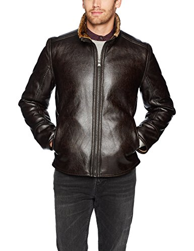 Marc New York by Andrew Marc Men's Caldwell Faux Shearling Jacket