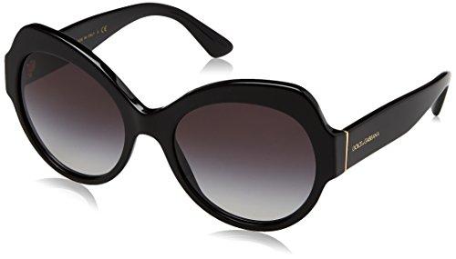 Dolce & Gabbana Women's Black/Smoke Gradient One Size
