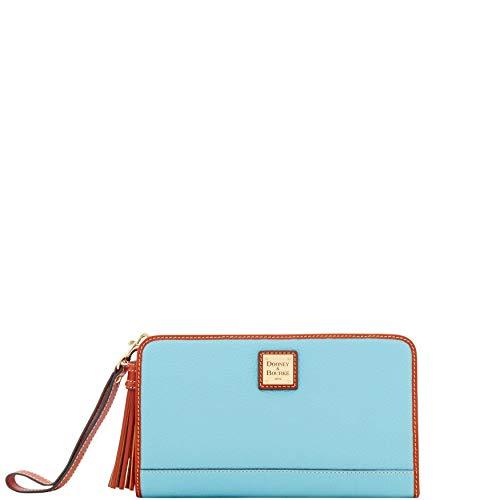 Dooney & Bourke Pebble Grain Alice Wristlet Clutch Wallet