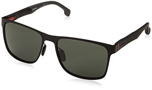 Carrera Men's Square Sunglasses, Matte Black, 57 mm