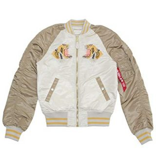 Alpha Industries Men's Tiger Souvenir Jacket