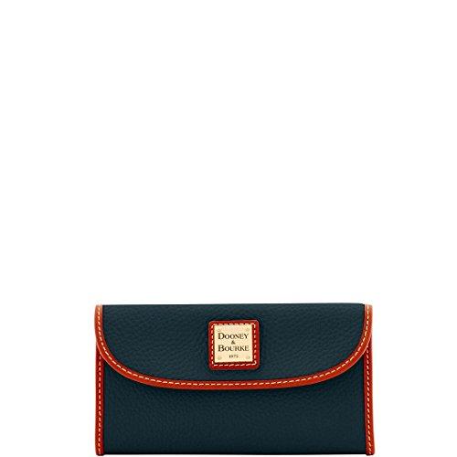 DooneyDillen Leather Continental Clutch Wallet