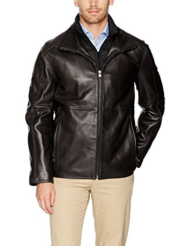 Marc New York by Andrew Marc Men's Hartz Lambskin Leather Jacket