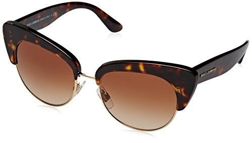 Dolce & Gabbana Women's Havana/Brown Gradient One Size