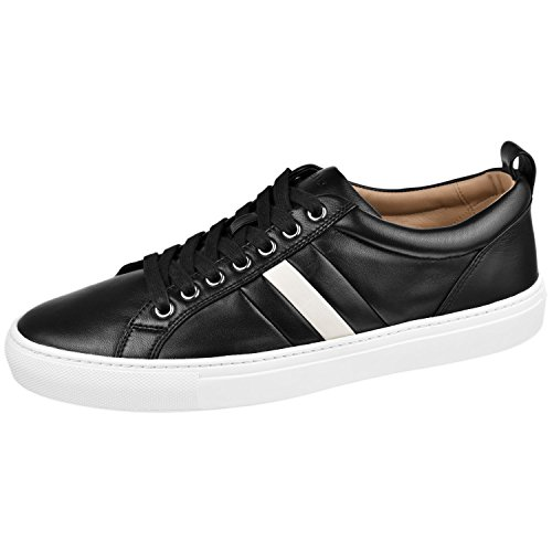 BALLY Men's Shoes Hendris Sneaker 9 M Black