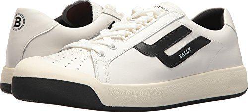 BALLY Men's New Competition Retro Sneaker White 9.5 D UK