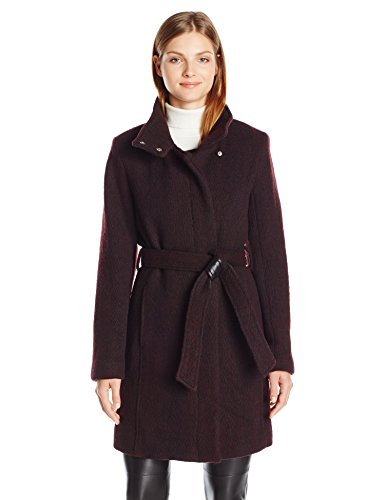 Marc New York by Andrew Marc Women's Tristina Wool 3/4 Length Coat