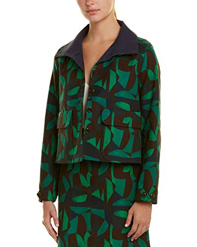Akris Womens Jacket, 8, Green