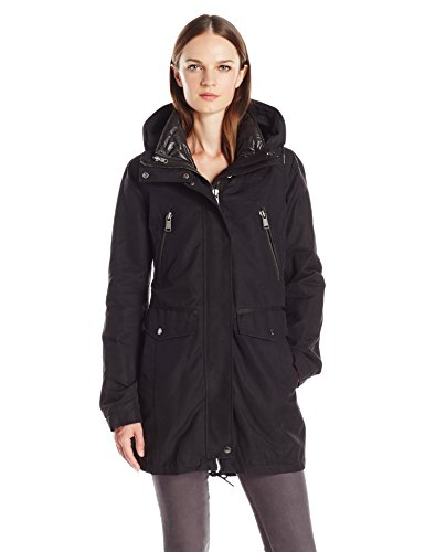 Andrew Marc Women's Stacey Water Repellent Coat