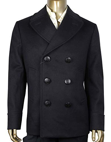 Gucci Classic Indigo/Chocolate Wool Beaver Coat