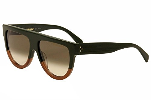 Céline Sunglasses - Frame: Green Brown Lens: Brown