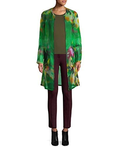 Akris Womens Diedra Long Coat, 8