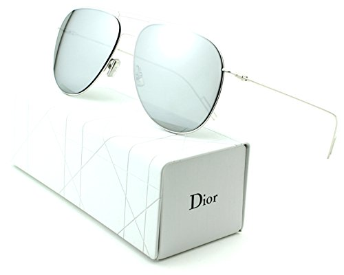 Dior Homme Unisex Metal Rectangular Sunglasses