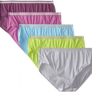 Fruit of the Loom Women's Plus Size Fit for Me 5 Pack