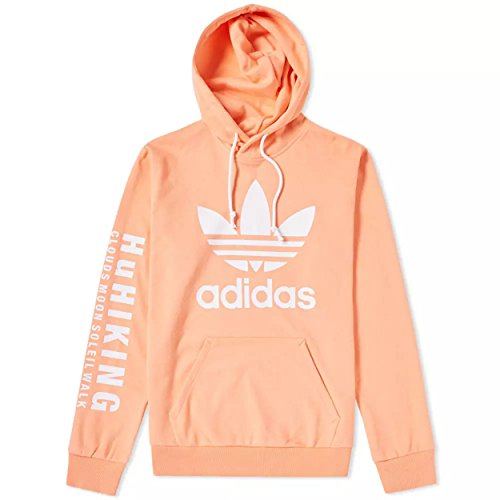 ADIDAS Men's Originals Pharrell Williams hu Hiking Hoodie Pink