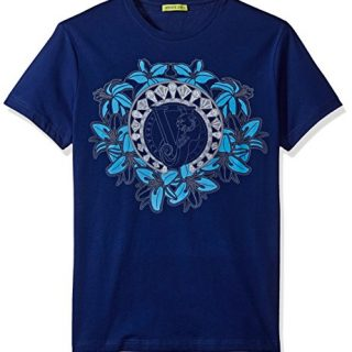 Versace Jeans Men's Graphic Circle Logo T-Shirt