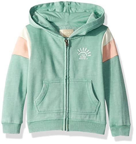 Roxy Girls' Little Beach in Hawaii Zip-Up Hooded Sweatshirt