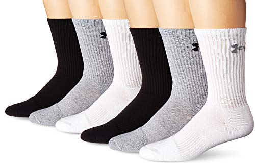 Under Armour Charged Cotton 2.0 Crew Socks