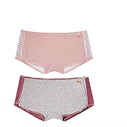 Victoria's Secret Pink Velvet Trim Shortie Panty