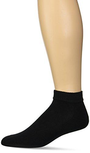 Gildan Men's Stretch Cotton Low Cut Socks, 12-Pack
