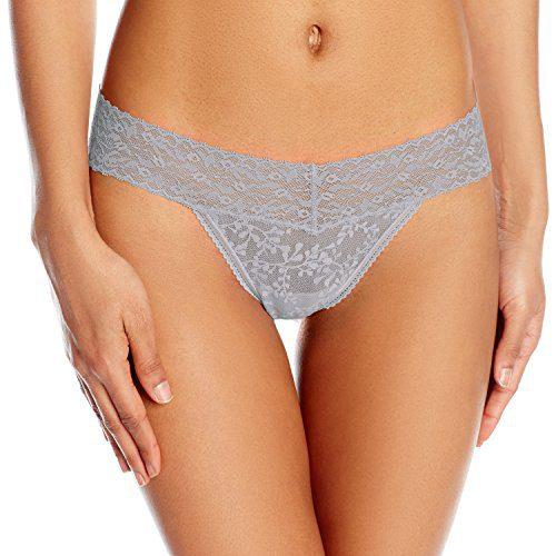 Calvin Klein Women's Underwear Bare Lace Thong Panty