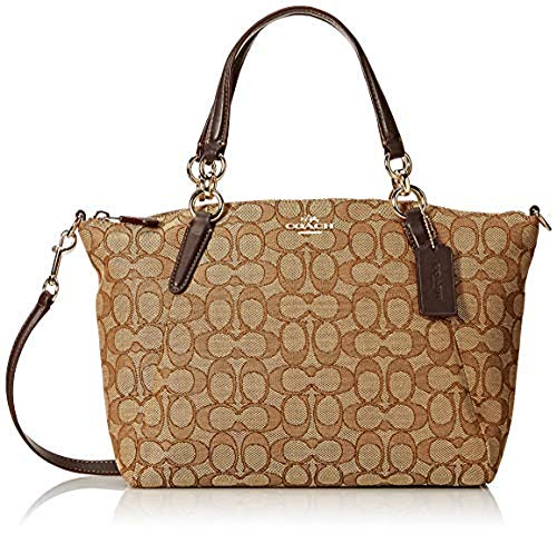 Coach Signature Small Kelsey Satchel Shoulder Bag Handbag