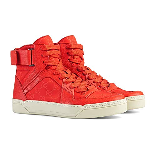 Gucci Men's Basketball High-top Sneaker, Dusk Red