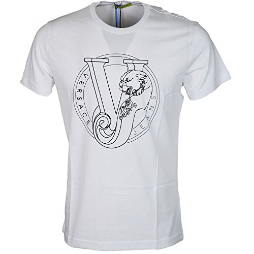 Versace Jeans Jersey Pluto Slim Fit White T-Shirt L White