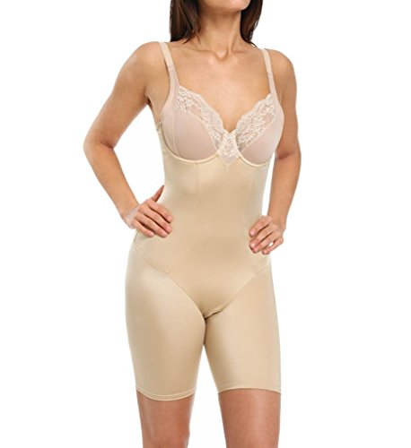 Flexees Maidenform Vintage Chic Firm Control Bodysuit