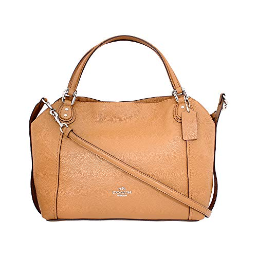 Coach Edie Ladies Medium Leather Shoulder Bag