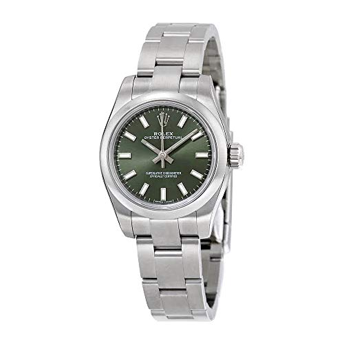 Rolex Lady Oyster Perpetual 26 Olive Green Dial Stainless Steel Rolex